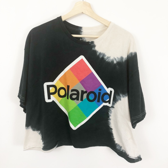 731f9f2b Polaroid Tops | Crop Top Tshirt Tie Dyed | Poshmark
